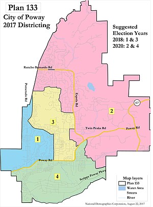 """""""At-large local elections have resulted in South Poway being historically underrepresented."""""""
