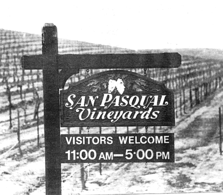 After checking with wine experts from the University of California at Davis, they arranged to lease 250 acres  from the city of San Diego for about $20,000 a year.