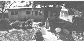 Yuin and Joko's house behind the Zen center