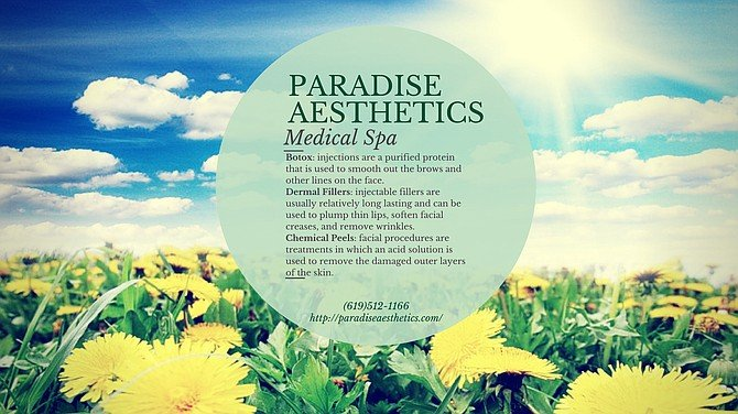 Paradise Aesthetics. call now to book your appointment