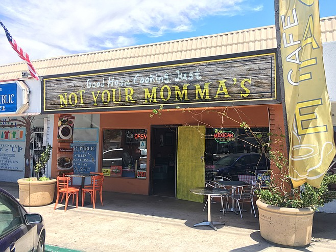 Not Your Momma's sits a mile from the Navy's harbor installations.