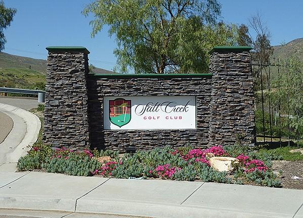 Salt Creek Golf Club closed in 2018.