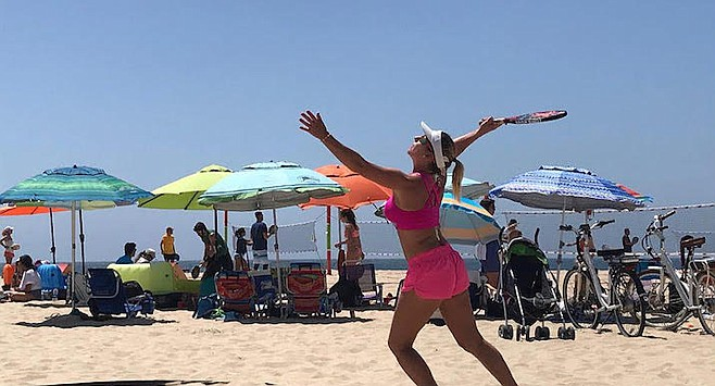 If you were slow to get beach volleyball | San Diego Reader