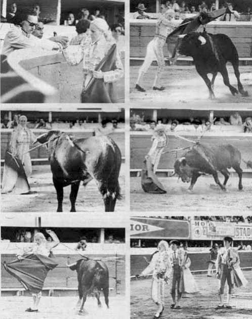 "The alternativa. As soon as the plans for Martinez's alternativa began to spread throughout the bullfighting world, ""all my fights were canceled."""