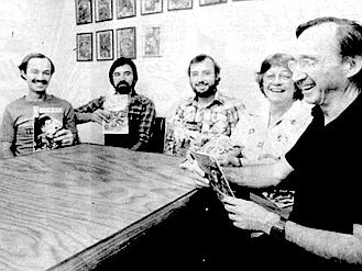 Paul, Bill, Steve, Christine, and Steven Schanes