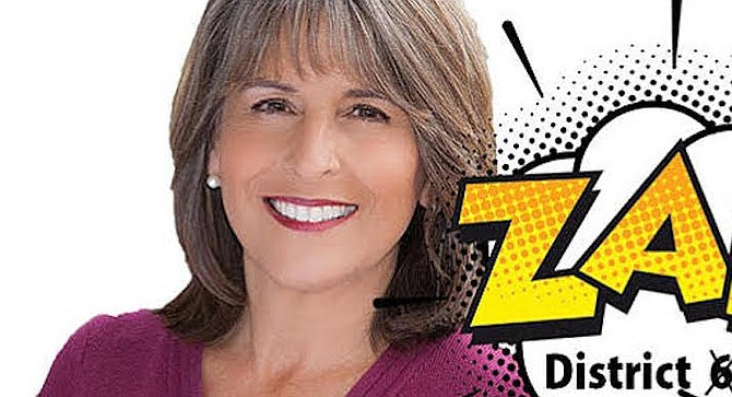 On August 2 Zapf filed papers at the city clerk's office for the Lorie Zapf Legal Defense Fund.