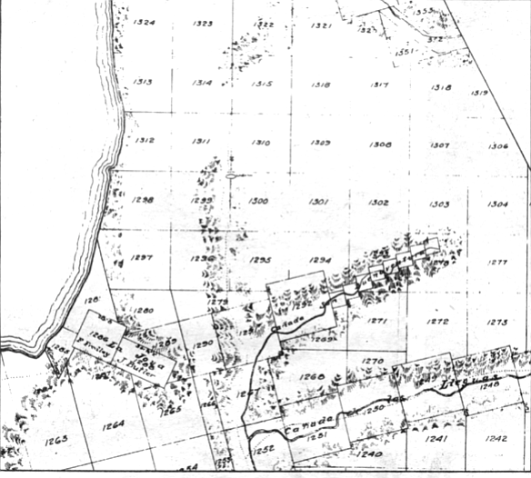 The city proposed selling pueblo land (seen here) to Irvin Kahn to develop what would become University City.  Voters voted the idea down in 1961 and 1963.