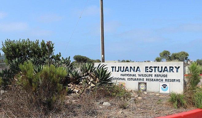 """""""The Tijuana Estuary is made up of freshwater from the Tijuana River that connects with the saltwater of the Pacific Ocean."""""""