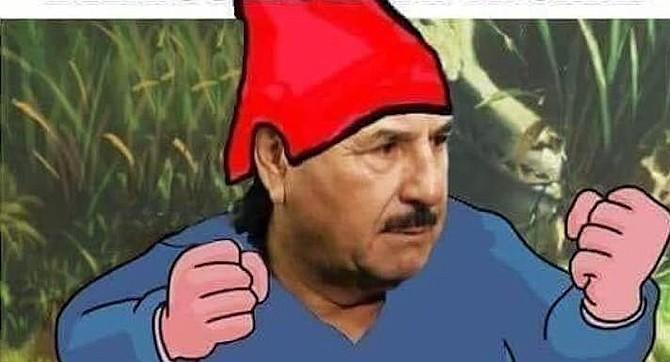 From a meme making fun of the mayor, Juan Manuel (el Patas) Gastelúm