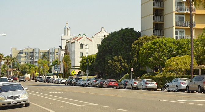 Park Blvd.: Developers could add height and more units.  - Image by Chris Woo