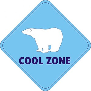 115 air-conditioned buildings have cool zone logos.