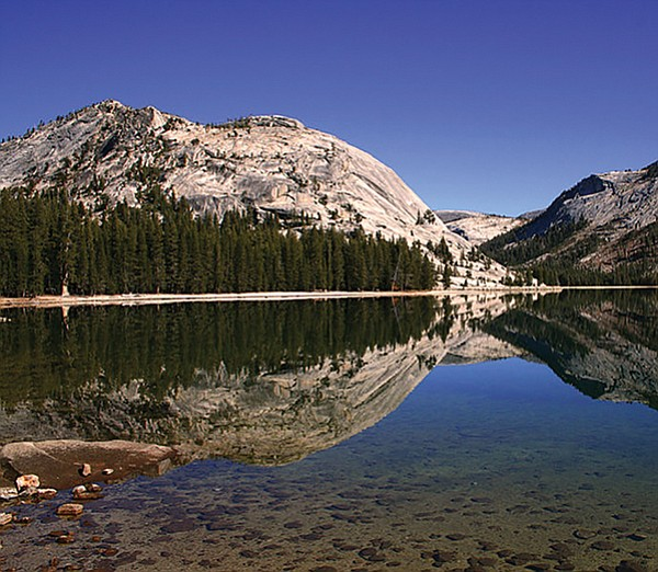 Lake Tenaya in Yosemite