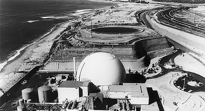 Unit 1, torn down to make room for current nuclear dump