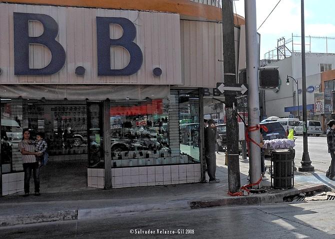Neighborhood Photos Second Street Tijuana,Baja Califonria,Mexico