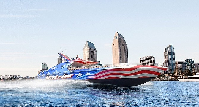 During a high-speed maneuver on the Patriot Jet Boat, the subject became unrestrained by the seatbelt and was thrown into the vessel's aisle.