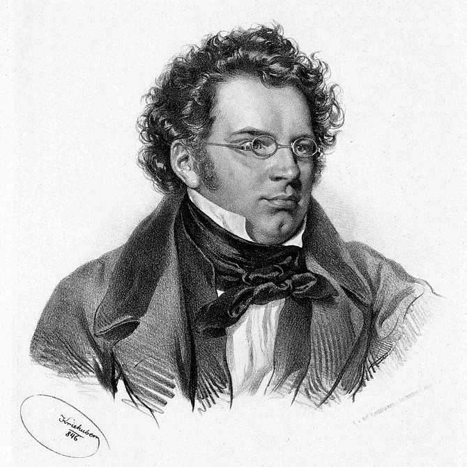 Franz Schubert wrote over 300 songs.