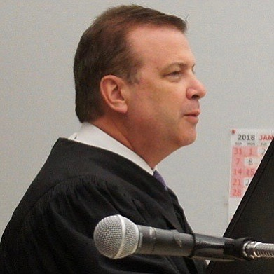 Hon. judge Blaine Bowman will hear this and future hearings for the Harper case. Photo by Eva.