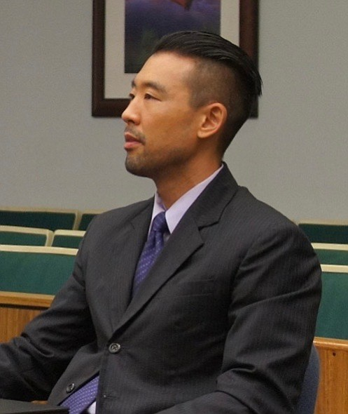 Keith Watanabe continues as prosecutor.