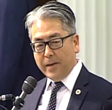"Assemblyman Al Muratsuchi: ""the faith community, like anyone else, needs to evolve with the times."""