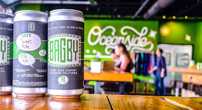 As of mid-August, it's easier to take Bagby Beer home with you.