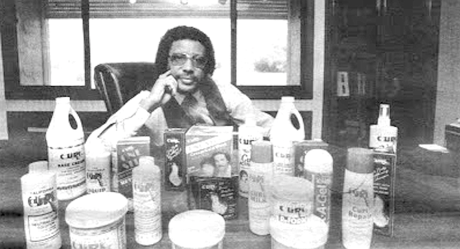 "Willie Morrow: Not a single comb on the market was specifically designed for Negro hair. ""You know what people would use? Angel food cake cutters."" - Image by Jim Coit"
