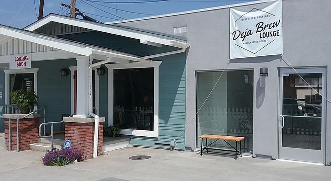 Deja Brew at University Avenue and Arnold St. will offer desserts.