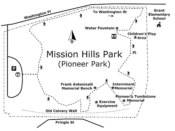 MISSION HILLS PARK (PIONEER PARK) Map