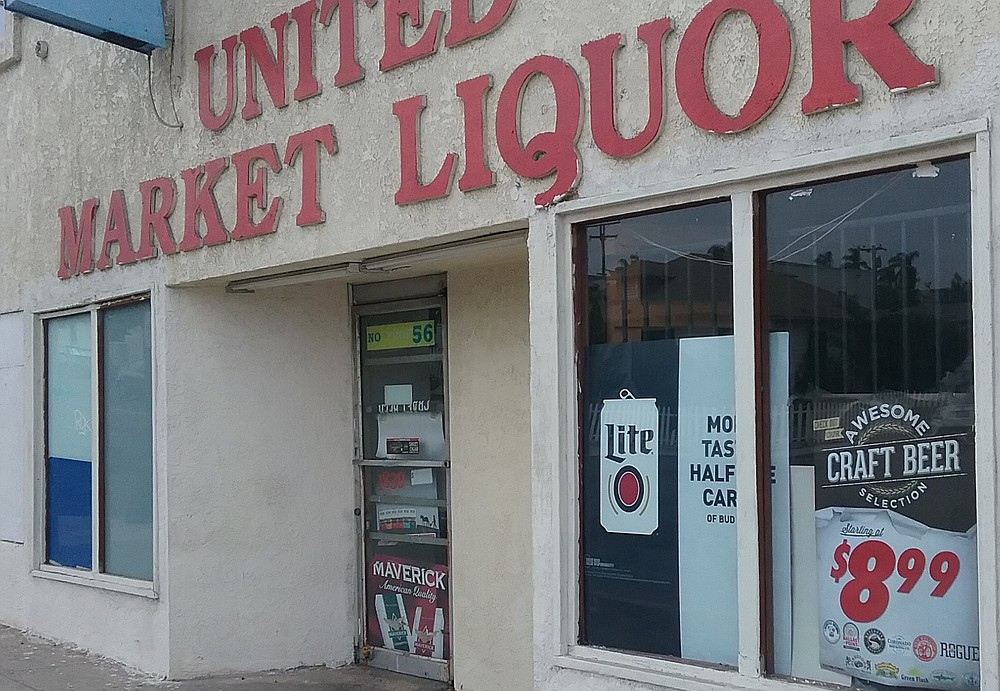 "The latest Yelp review of United Market: ""This place isn't just ghetto...."""