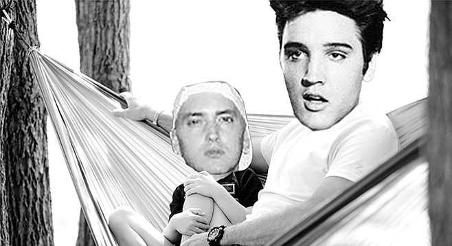 Is Eminem Elvis's heir?