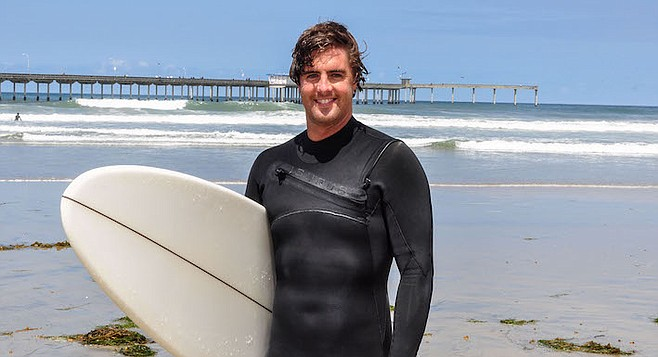 """Neil McCaffrey: """"I've seen a couple sharks and rescued a couple people."""""""