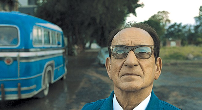 Ben Kingsley stars as Adolf Eichmann, the Architect 