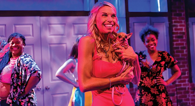 Danielle Levas plays the bubbly title role of the musical Legally Blonde.