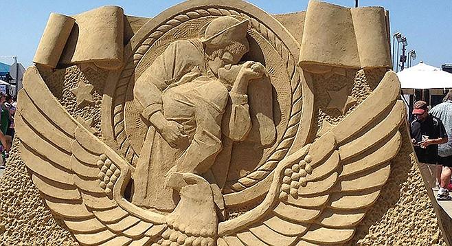 Sand Sculpture Challenge