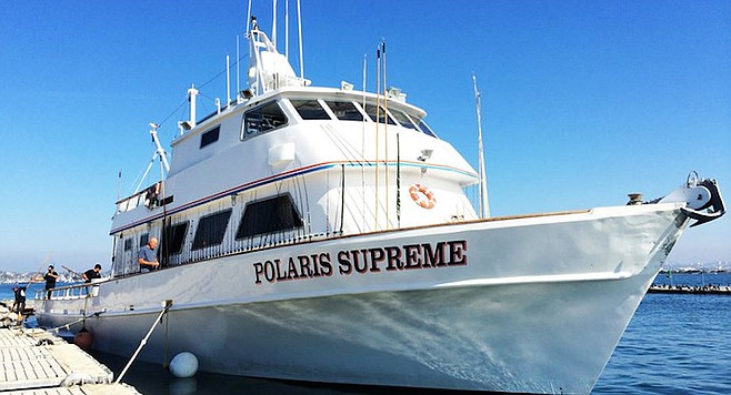 The Polaris Supreme looks to be going out to Guadalupe to try and wrestle some large yellowfin from sharks.