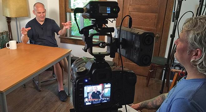 Rocker/filmmaker Jason Blackmore interviews Ian MacKaye of Dischord Records-Minor Threat-Fugazi.