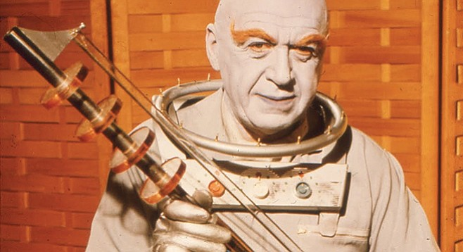 Otto Preminger: also known as Batman's hyperboreal nemesis, Mr. Freeze