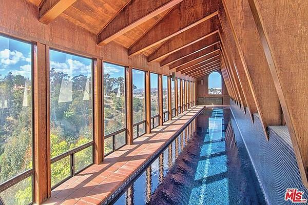 Indoor-outdoor living? Try indoor-outdoor swimming!