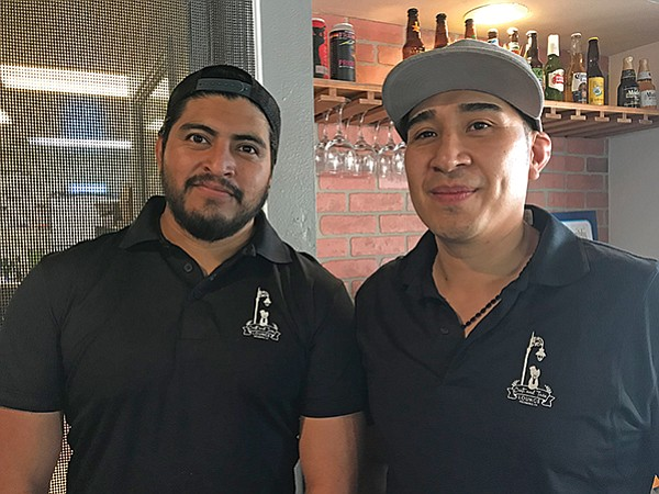 Chefs Daniel and Héctor