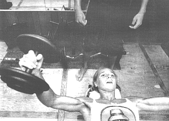 Jan Bowden found she loved watching her own muscles tense and work.