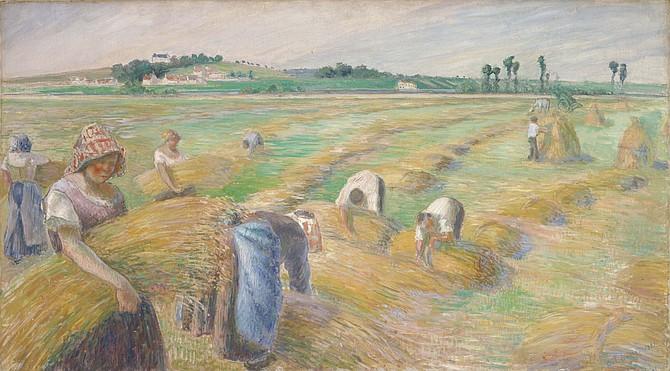 Camille Pissarro: The Harvest