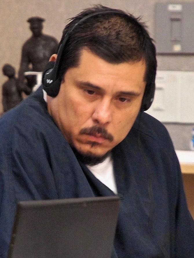 Enrique pleads not guilty. Photo by Eva.