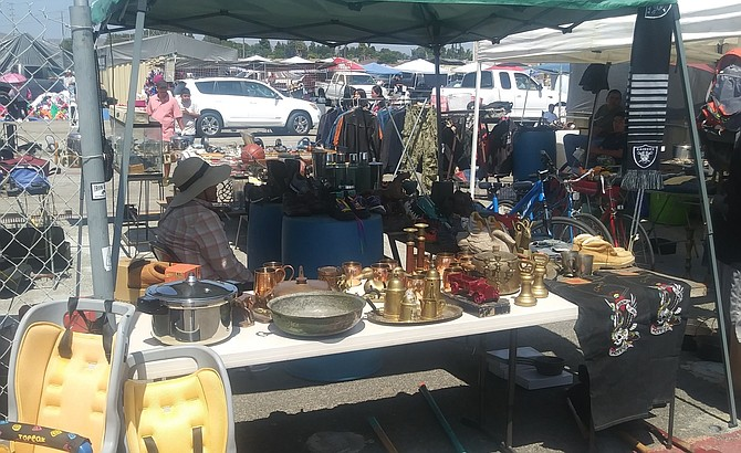 The conditional use permit allowing the swap meet to operate was set to end in October.