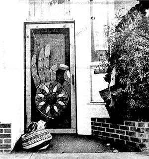 Front door of the Prophet