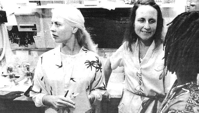 Patricia Arpajou, Cynthia Morris