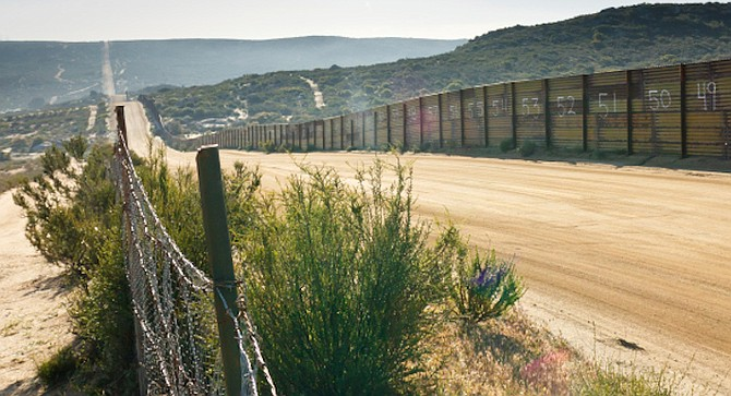 San Diego's Border Patrol sector ranked third in assaults during the seven fiscal years ending in 2017, with a total of 693.