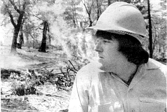 White: the Laguna fire started in chaparral that was twenty-six years old.