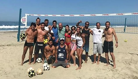 Footvolley Club hosted the Footvolley Cup San Diego at Frazee Beach.