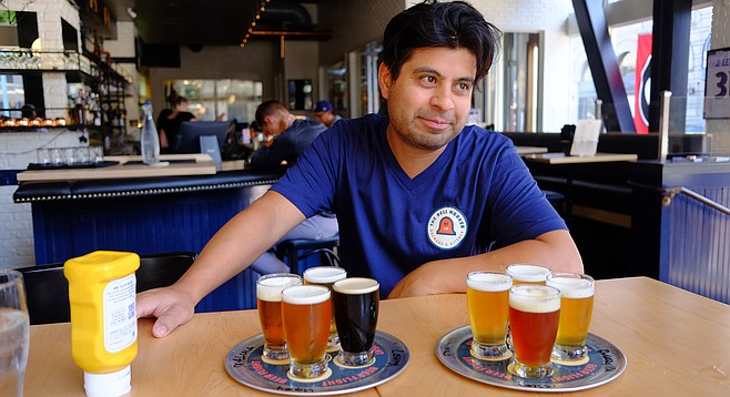The Bell Marker hired Nacho Cervantes away from Pizza Port by returning him to a brewpub gig.