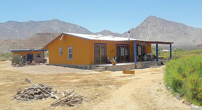 Ray and Joanne's home on Bahia de los Angeles