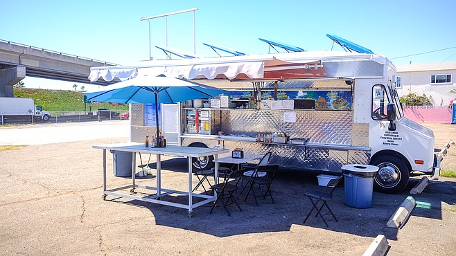 The Jolla Shark food truck now has an entire lot to itself.